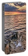 Oyster Bay Stump Sunset Portable Battery Charger