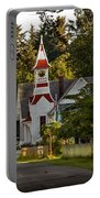 Oysterville Church Portable Battery Charger