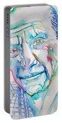 Pablo Picasso- Portrait Portable Battery Charger by Fabrizio Cassetta