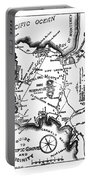 Pacific Grove And Vicinity  Monterey Peninsula California  Circa 1880 Portable Battery Charger