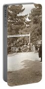Pacific Grove Retreat Gate On Lighthouse At Grand Aves  With  O. J. Johnson Circa 1880 Portable Battery Charger