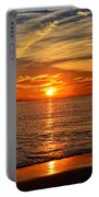 Pacific Ocean Sunset Portable Battery Charger
