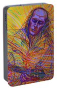 Paco De Lucia And Guardian Angel Portable Battery Charger