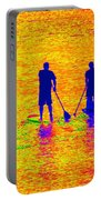Paddle Board Paradise Portable Battery Charger