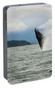 Paddle Boarders And Humpback Whale Portable Battery Charger
