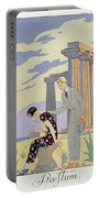 Paestum Portable Battery Charger by Georges Barbier