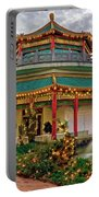 Pagoda In Norfolk Virginia Portable Battery Charger