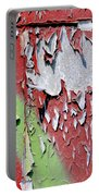 Paint Abstract Portable Battery Charger