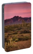Paint It Pink Sunset  Portable Battery Charger