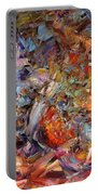 Paint Number 43a Portable Battery Charger by James W Johnson