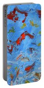 Paint Number 47 Portable Battery Charger by James W Johnson