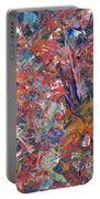 Paint Number 50 Portable Battery Charger by James W Johnson