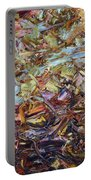 Paint Number 51 Portable Battery Charger by James W Johnson