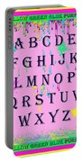 Paint Spattered Primary Learning Portable Battery Charger