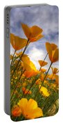 Paint The Desert With Poppies  Portable Battery Charger