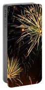 Paint The Sky With Fireworks  Portable Battery Charger