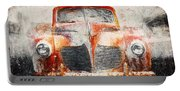Painted 1940 Desoto Deluxe Portable Battery Charger