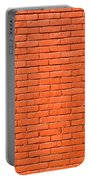 Painted Brick Wall Portable Battery Charger