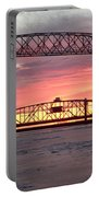 Painted Bridge Portable Battery Charger