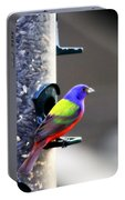 Painted Bunting - Img 9757-002 Portable Battery Charger