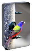Painted Bunting - Img_9756-004 Portable Battery Charger