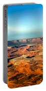 Painted Canyonland Portable Battery Charger