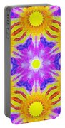 Painted Cymatics 161.66hz Portable Battery Charger