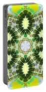 Painted Cymatics 181.66hz Portable Battery Charger