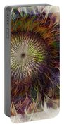 Painted Daisy Portable Battery Charger