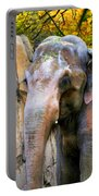 Painted Elephant Portable Battery Charger