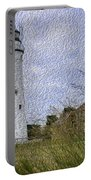 Painted Fort Gratiot Light House Portable Battery Charger