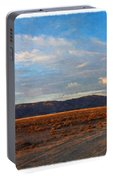 Painted Golden Sunset Portable Battery Charger