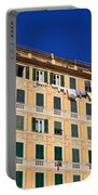 painted homes in Camogli Portable Battery Charger