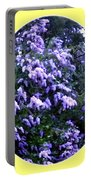 Painted Lilacs Portable Battery Charger