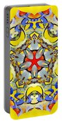 Painted Lotus Xiii Portable Battery Charger