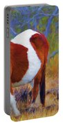 Painted Marsh Mare Portable Battery Charger