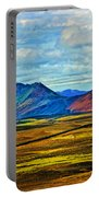 Painted Mountain Portable Battery Charger