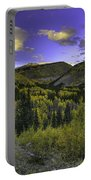 Painted Mountains Portable Battery Charger