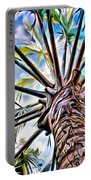 Painted Palms Portable Battery Charger