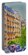 Painted Paris Portable Battery Charger