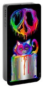 Painted Peace Portable Battery Charger