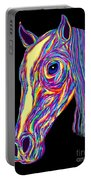 Painted Pony Portable Battery Charger