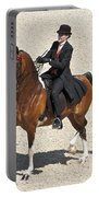 Painted Saddlebred Portable Battery Charger