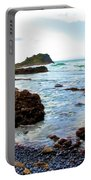 Painted Seascape Portable Battery Charger