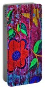 Painted Table Portable Battery Charger
