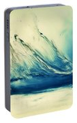 Painting Of Fresh Water Splash Portable Battery Charger