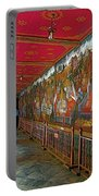 Paintings On Wall Of Middle Court Hallof Grand Palace Of Thailand Portable Battery Charger