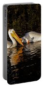 Pair Of Pelicans   #6935 Portable Battery Charger