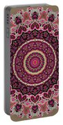 Paisley Hearts Portable Battery Charger