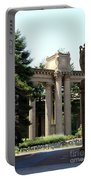 Palace Fine Arts Pillars And Urn Portable Battery Charger